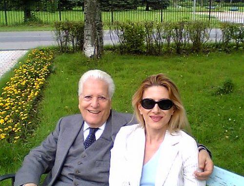 Con Franco Mannino